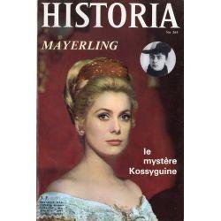 Historia n° 265 - Mayerling - Le mystère Kossyguine