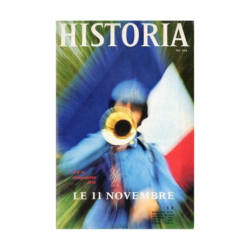 Historia n° 264 - Il y a 50 ans le 11 novembre