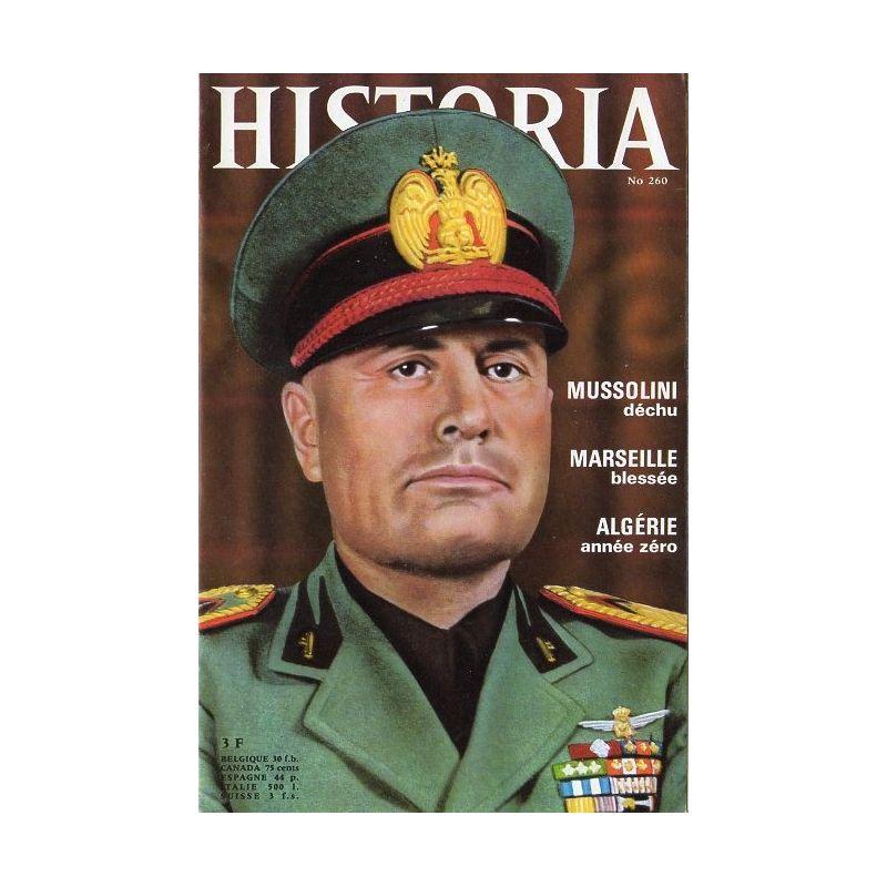 Historia n° 260 - Mussolini déchu