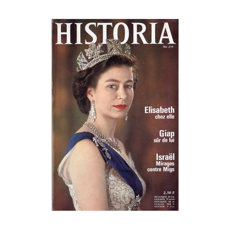 Historia n° 259 - La Reine Élisabeth chez elle