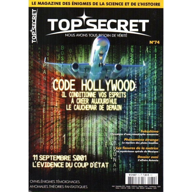 Top Secret n° 74 - Code Hollywood