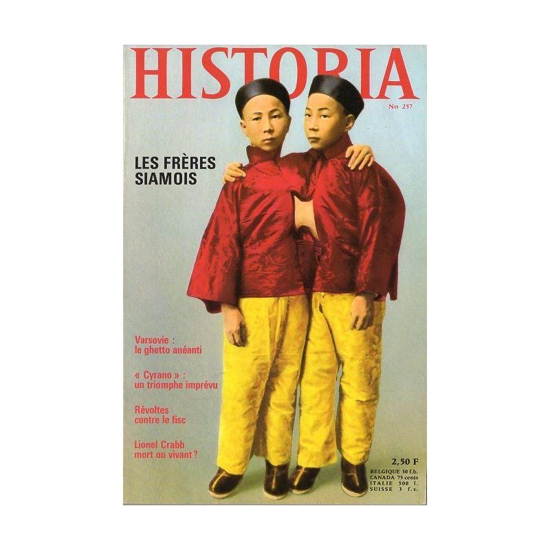 Historia n° 257- Les frères siamois