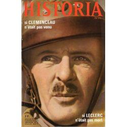 Historia n° 252 - Si Clemenceau n'était pas venu, si Leclerc n'était pas mort