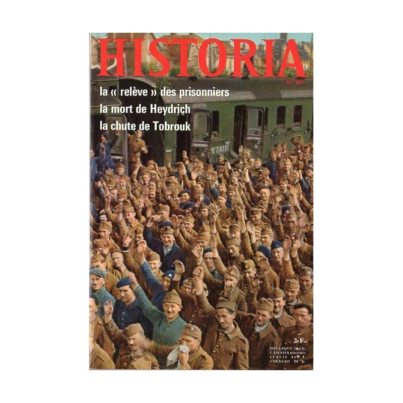 """Historia n° 247 - La """"relève"""" des prisonniers"""