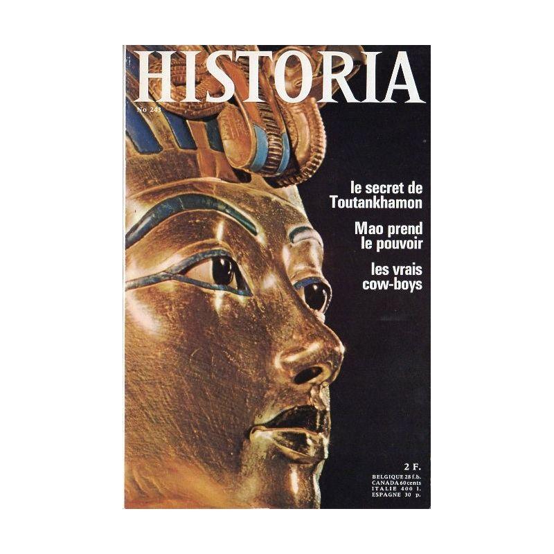 Historia n° 243 - Le secret de Toutankhamon