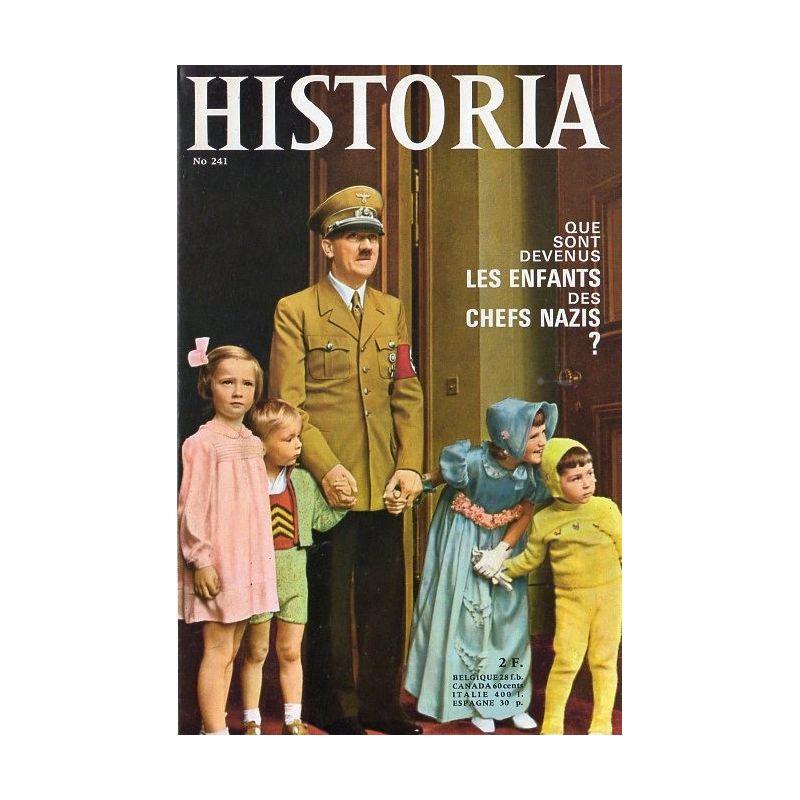 Historia n° 241 - Que sont devenus les enfants des Chefs nazis ?