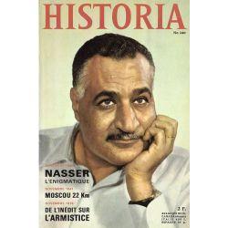 Historia n° 240 - Novembre 1956 : Nasser l'énigmatique