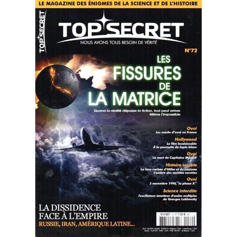 Top Secret n° 72 - Les fissures de la Matrice