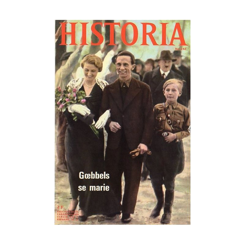 Historia n° 232 - Nazie jusque à la mort : Magda Goebbels
