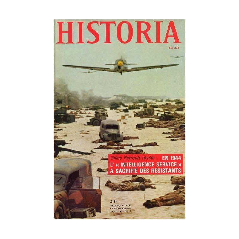 Historia n° 223 - En 1944 l'Intelligence service a sacrifié des résistants
