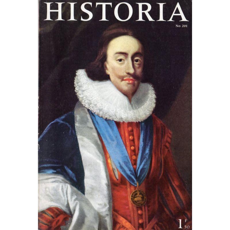 Historia n° 201 - Le mariage manqué de Charles Stuart, héritier de la couronne d'Angleterre