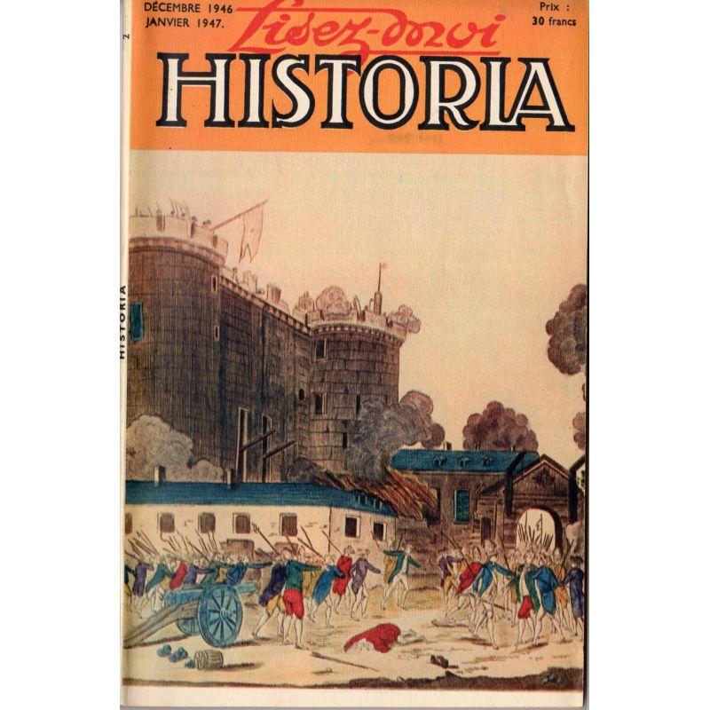Lisez-moi Historia n° 2 - Couverture : la prise de la Bastille, Musée Carnavalet
