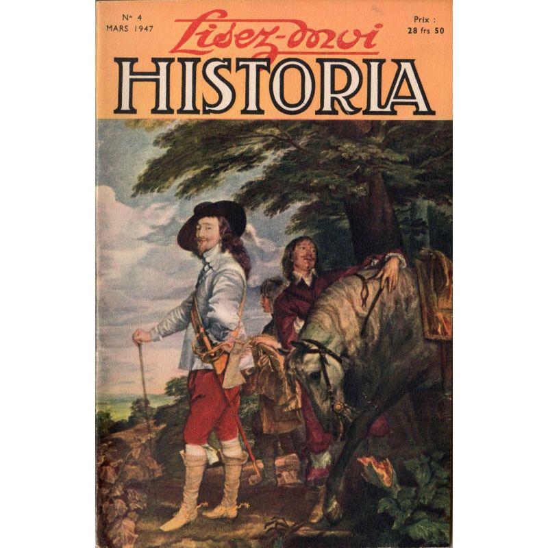 Lisez-moi Historia n° 4 - Couverture : Charles Ier d'Angleterre , tableau de Van Dyck