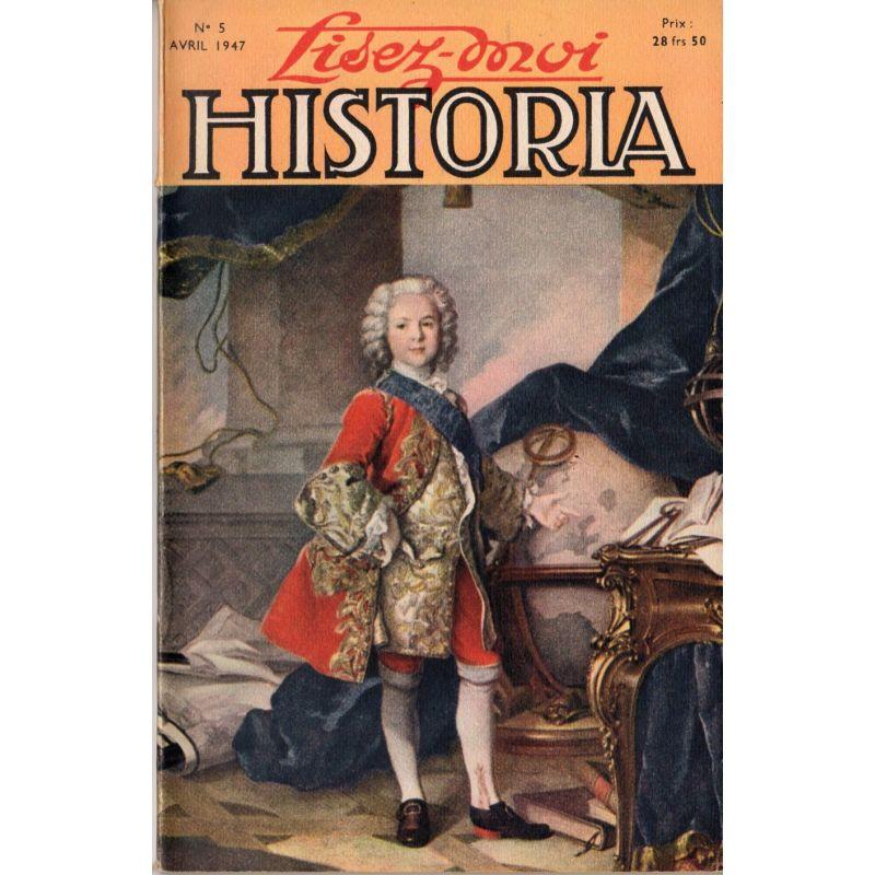 Lisez-moi Historia n° 5 - L'éducation du Dauphin, Louis de France - Tableau de Louis Tocqué