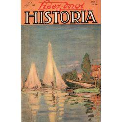 Lisez-moi Historia n° 9 - L'évasion de Lavallette - Couverture : Les régates d'Argenteuil, tableau de Claude Monet