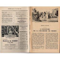 Lisez-moi Historia n° 3 - L'aventure de la Duchesse de Berry, pages 2 et 3