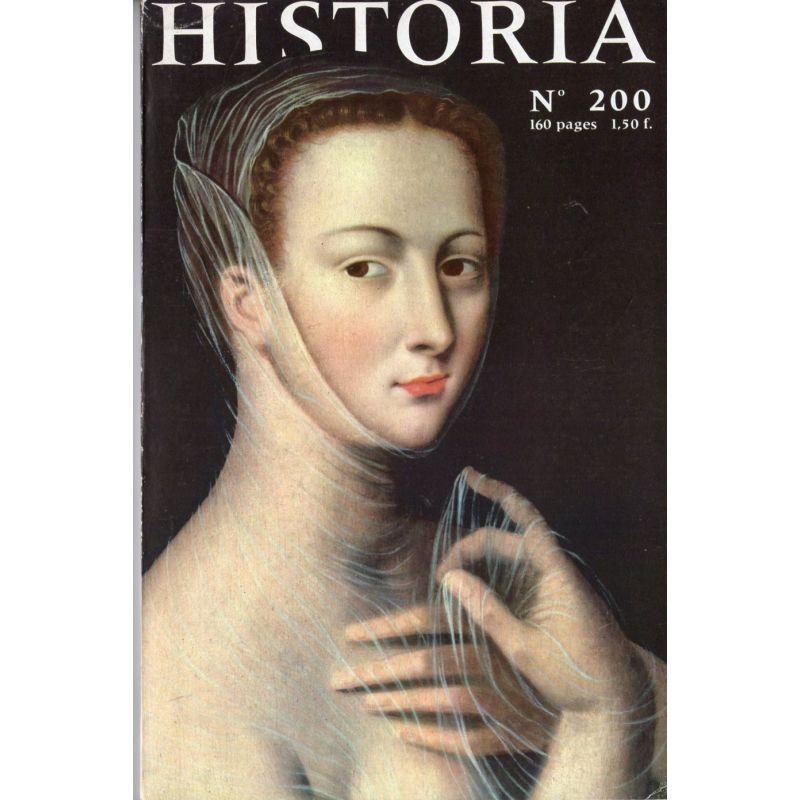 Historia n° 200 - Les dix journées de Charlotte Corday, couverture : Sabina Poppea, tableau anonyme du XVIe siècle