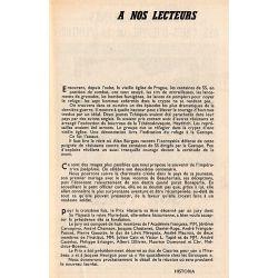 Historia n° 199 - Ce bon docteur Ignace Guillotin - A nos lecteurs