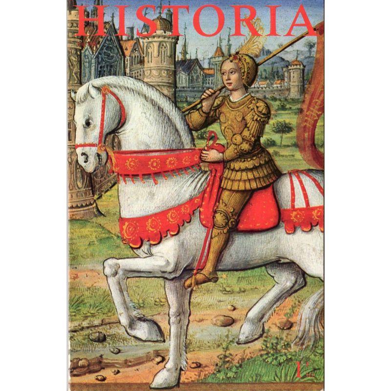 Historia n° 198 - Toute la vie de Jeanne d'Arc, couverture Jeanne d'Arc, miniature (1505)