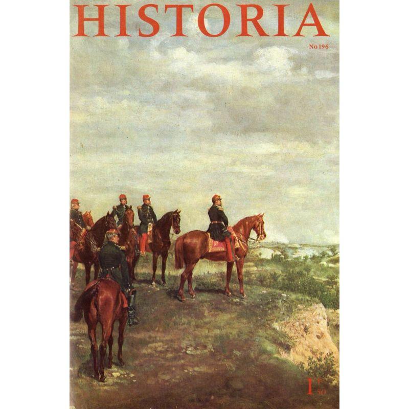 Historia n° 196 - Madame Tallien, reine du Directoire - couverture : Napoléon III à Solférino par Meissonnier