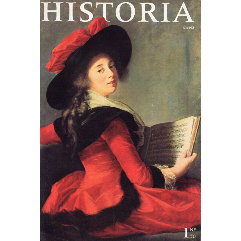 Historia n° 192 - Le grand amour de la reine Hortense