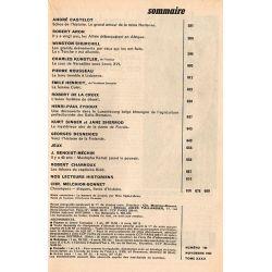 Historia n° 192 - Le grand amour de la reine Hortense - Sommaire