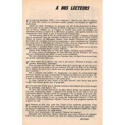 Historia n° 192 - Le grand amour de la reine Hortense - à nos lecteurs
