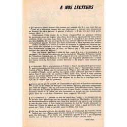 Historia n° 189 - Petite histoire des vacances - à nos lecteurs