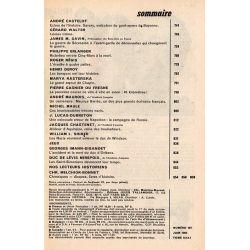Historia n° 187 - Savary, exécuteur du guet-apens de Bayonne - Sommaire