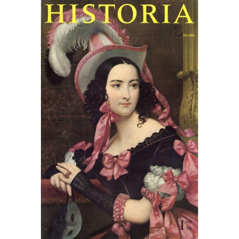 Historia n° 186 - Échos de l'histoire : Était-ce Louis XVII ? - Couverture : Portrait de jeune femme par Court