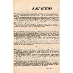 """Historia n° 184 - Échos de l'histoire : Laide ou Belle Époque ? """"Amours 1900"""" - à nos lecteurs"""