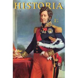 """Historia n° 183 - Échos de l'histoire : Les amours de """"Paganetta"""" - Couverture : Portrait de Louis-Philippe par Winterhalter"""