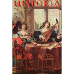 Historia n° 182 - Échos de l'histoire : Frédéric II : le père et le fils ennemis - Couverture : L'ouïe, d'après Abraham Bosse