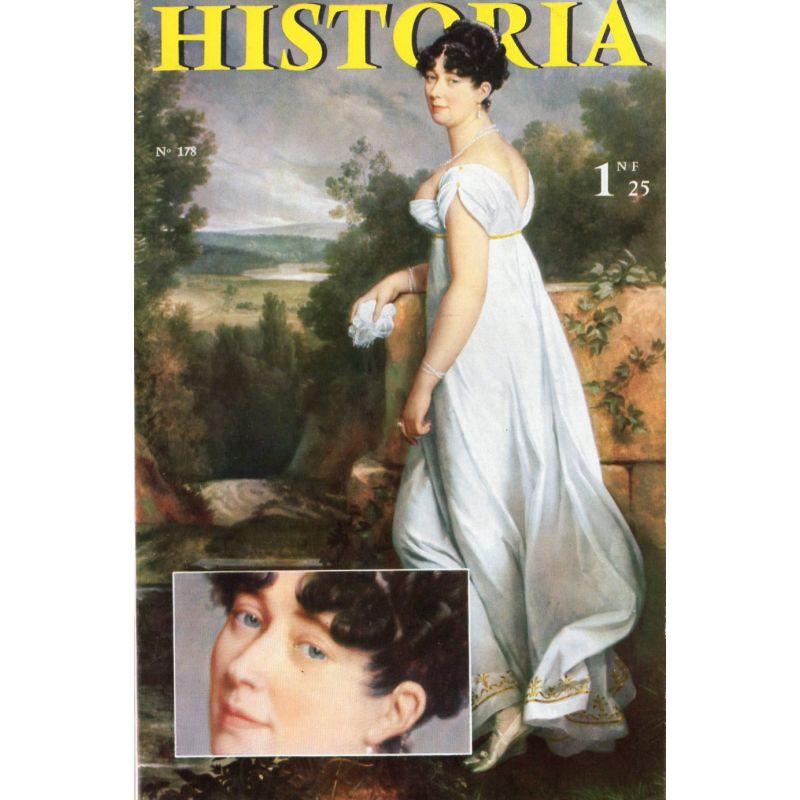 Historia n° 178 - Échos de l'histoire : Charcot, grand seigneur de l'aventure - Couverture : La marquise Visconti, par Gérard