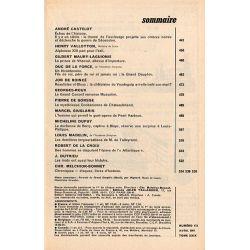 Historia n° 173 - Échos de l'histoire : Le drame de l'esclavage provoque la guerre de sécession - Sommaire