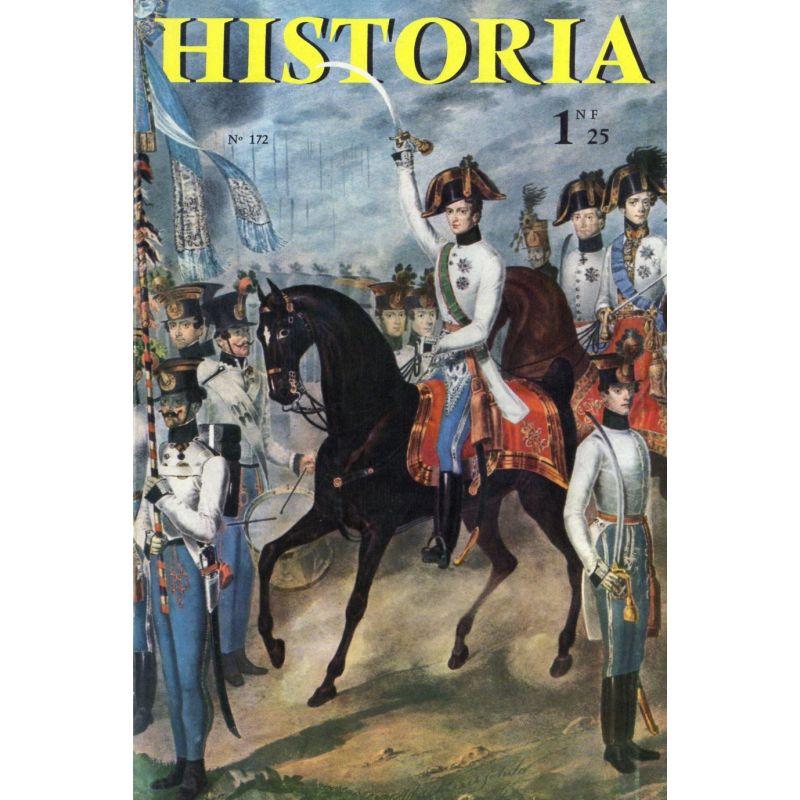Historia n° 172 - Échos de l'histoire : 20 mars 1811, le roi venait au monde. La plus fabuleuse naissance de l'Histoire