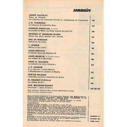 """Historia n° 171 - Échos de l'histoire : La """"machina"""" du """"rezisside"""" Fieschi, le saltimbanque de l'assassinat - Sommaire"""