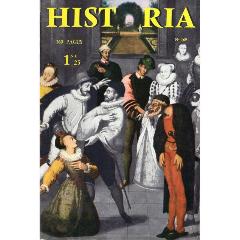 Historia n° 169 - Échos de l'histoire : Est-ce enfin, la vérité sur Mayerling ?