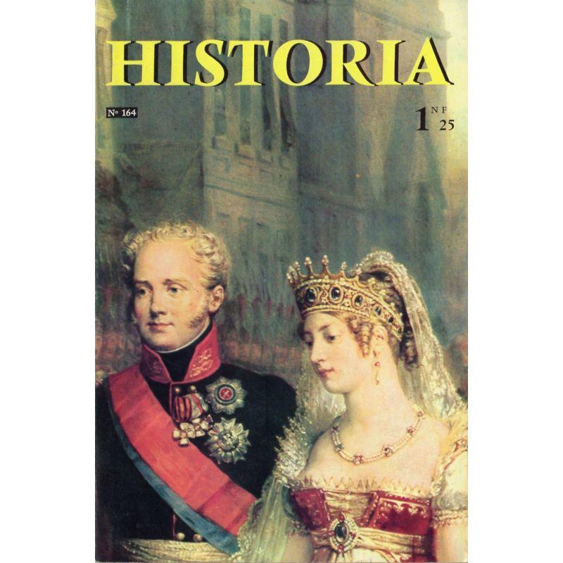 Historia n° 164 - Échos de l'histoire : Ce sont des Français qui, les premiers, ont quitté la Terre