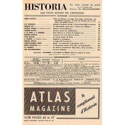 Historia n° 164 - Échos de l'histoire : Ce sont des Français qui, les premiers, ont quitté la Terre - Sommaire
