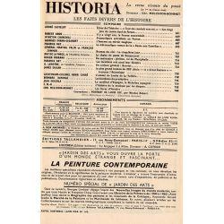 Historia n° 163 - Échos de l'histoire : Les vingt juin du comte Axel de Fersen - Sommaire
