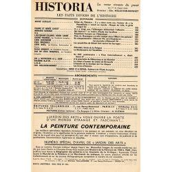 Historia n° 162 - Échos de l'histoire : L'auteur de la Marseillaise, Rouget de Lisle - Sommaire