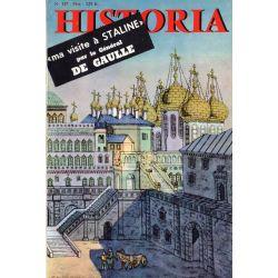 Historia n° 157 - Ma visite à Staline (par Charles de Gaulle) - Couverture : Vue ancienne du Kremlin
