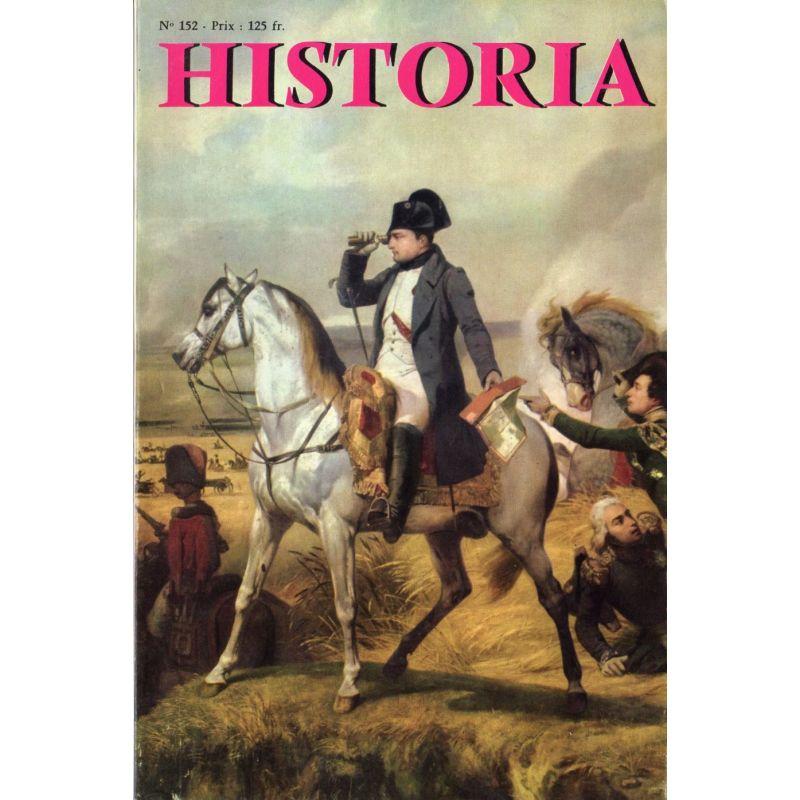 Historia n° 152 - Il y a 50 ans : Blériot traverse la Manche - Couv. Napoléon à Wagram, par Horace Vernet