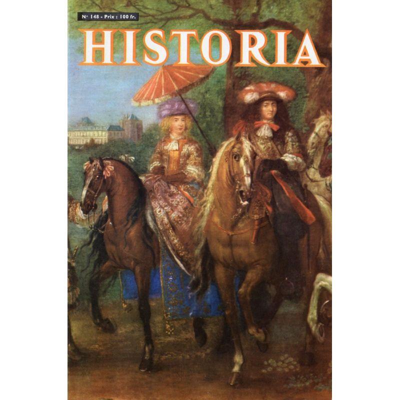 Historia n° 148 - Il y a trente ans, le Maréchal Foch s'éteignait - Couv. Louis XIV en promenade à Vincennes, par Van der Meulen