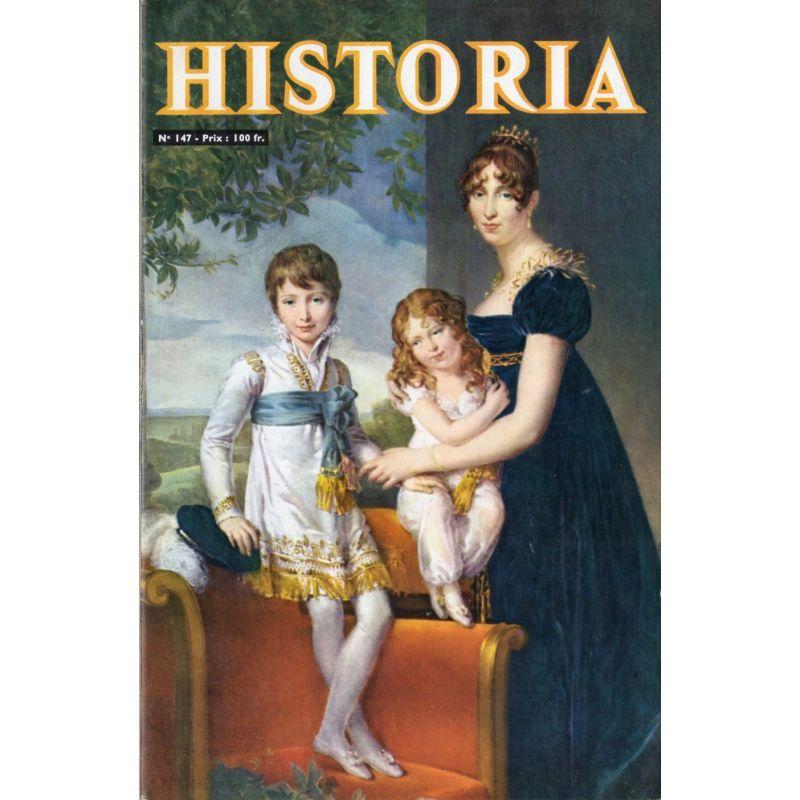 Historia n° 147 - Résistance contre Kriegsmarine - Couv. La Reine Hortense et ses enfants, par Gérard