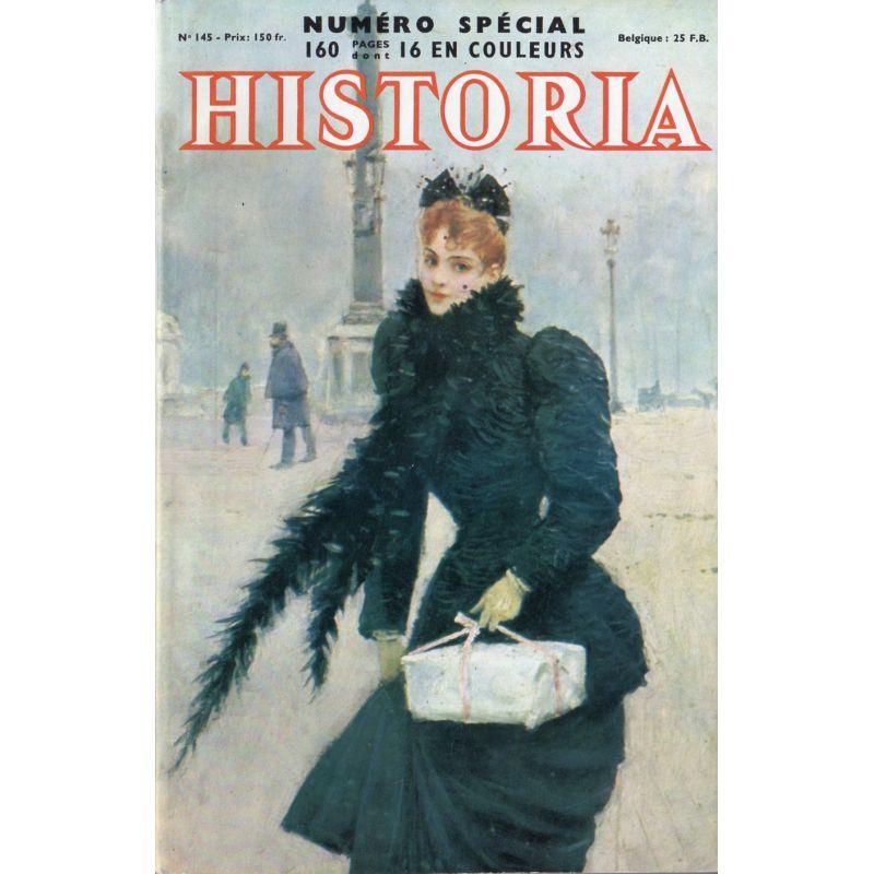 Historia n° 145 - Une audience de Pie XII : retour à Saint-Pierre (juin1944) - Couv. Une Parisienne