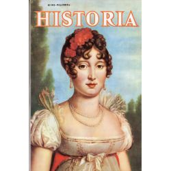 Historia n° 143 - Les journées d'octobre - Couverture : Portrait de Marie-Caroline de Naples