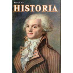 Historia n° 138 - La Dame aux Perles -  Couv. Robespierre