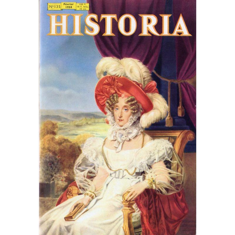 Historia n° 135 - Qui a incendié le Reichstag ? - Couv. La Reine Marie-Amélie